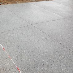 Exposed aggregate driveway freshly sealed and protected with - Maudiebickram Exposed Aggregate Driveway, Concrete Driveways, Exposed Concrete, Concrete Floors, Driveway Sealer, Real Plants, Backyard Landscaping, Outdoor Gardens, Driveway Ideas