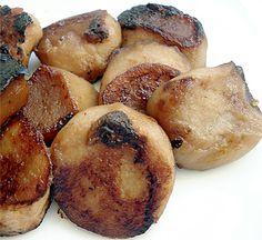 Pan Fried Komachibu (Vegan Scallops)