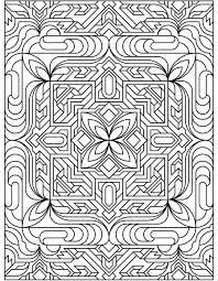 triptastic coloring pages | Geometric Patterns for Kids to Color - Coloring Pages for ...