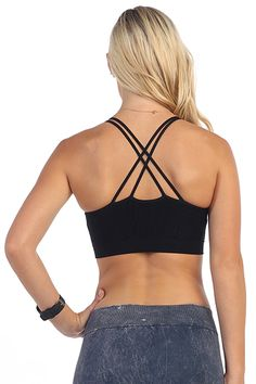 PADDED SHINY ZEBRA DOUBLE LAYERED SPORTS BRA TOP