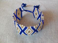 PULSERA TEJIDA AJUSTABLE CON CHAQUIRA IMPORTADA DE JAPÓN. VARIEDAD EN COLORES. #LePip #HandMade #Jewelry