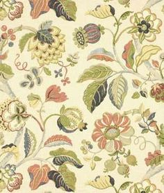 tuscan country fabric | Robert Allen Spring Estate Prussian Fabric | onlinefabricstore.net
