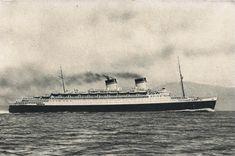 Ocean Liner, Conte Di Savoia, Italian Line, Flotte, Riunite Genova   by photolibrarian