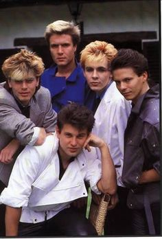 Kiddies today have boy bands. We had Duran Duran. And, guess what, kiddies...these guys are still making music!