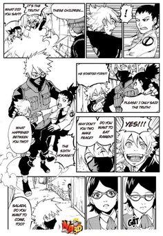 (2) Yamanaka Inojin, Shikadai, Uzumaki Boruto, Kakashi Face, Naruto Gaiden, After Story, Naruto The Movie, Sasuhina, Boruto Naruto Next Generations