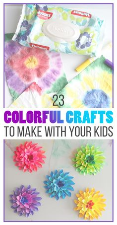 23 Wildly Colorful Crafts To Do With Your Kids