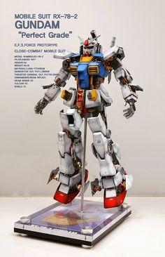 PG 1/60 RX-78-2 Gundam 'Open Hatch' - Custom Build