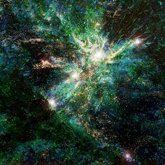 nebula ring van Marcel Mahof