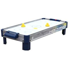 Amazon.com : Harvil 40-Inch Tabletop Air Hockey Table with Powerful Electronic Blower, 2 Paddles, and 2 Pucks. : Foosball Tables : Sports & Outdoors
