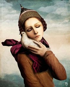 Christian Schloe is a talented Austrian artist whose work includes digital art, painting, illustration, and photography. These surreal scenes by Christian Sc. Magritte, Illustrator, Image Nature, Images Vintage, Max Ernst, Wassily Kandinsky, Tempera, Surreal Art, Bird Art