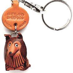 Shetland Sheepdog Keychain, $13.50, now featured on Fab.