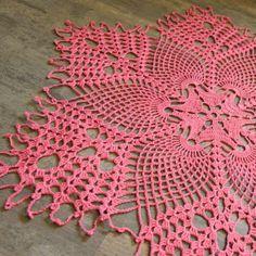 28 modelos de sousplat de crochê , faã você mesma - Decoração, DIY, terapia