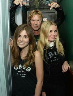 Duff & his daughters