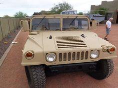1990 M998 6.5L 7K Diesel, Humvee-Millas, título CAMINO!, nueva pintura, Top & Asientos