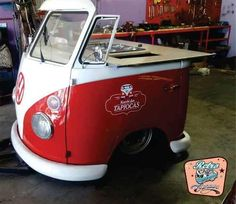 Food Truck Mini Kombi - R$ 15.000,00 em Mercado Livre