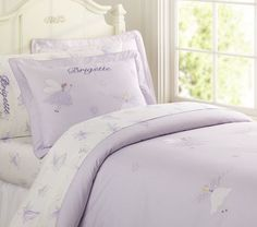 I love this personalized bedspread, it's so whimsical.