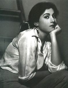 Love this photo of Madhubala. It's the same face I make when I'm waiting around.
