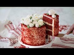 How to Make Red Velvet Cake - YouTube