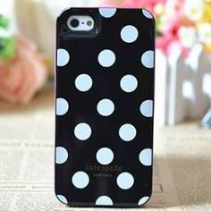 Kate Spade New York Black with White Dots Case For iPhone 5 5s SE Kate Spade 9faf908bcac1