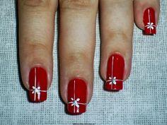 50 Fotos de uñas navideñas – Christmas Nails | Decoración de Uñas - Manicura y NailArt - Part 2