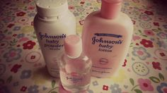 johnson's baby stuff! Love their products!