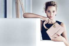 Jennifer Lawrence Looks Gorgeous in New Dior Campaign  #InStyle