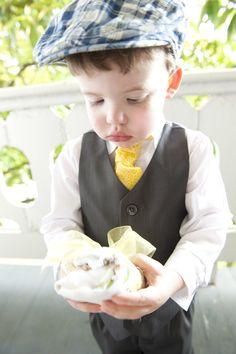 Boys Wedding Neckties via #Etsy - for the ring bearer