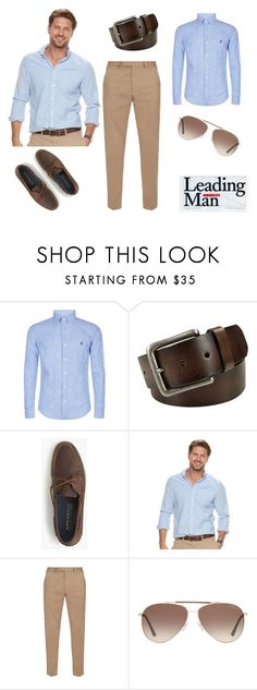 """Day by day style"" by roxx1993 on Polyvore featuring Polo Ralph Lauren, FOSSIL, J.Crew, SONOMA Goods for Life, Gucci, Tom Ford, men's fashion and menswear"