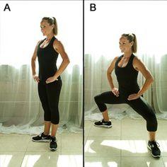 Kneeling Roundhouse Kick - Best Thinner Legs Workout - Shape Magazine