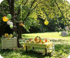 flowery garden party