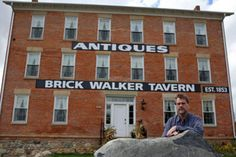 The Historic Brick Walker Tavern in Irish Hills transformed into a hotel and event center | Read more on MLive.com