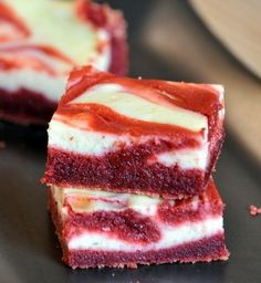 Red Velvet Cheesecake Brownies | Baking Bites