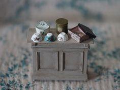 2018.05 Miniature Kitchen Cabinet Dollhouse By petipetit