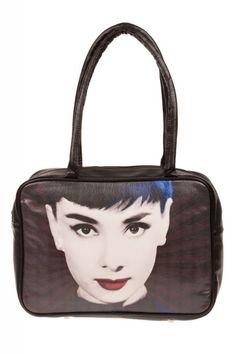 #bag #hold-all #retro #vintage #woman #accessory #audreyhepburn