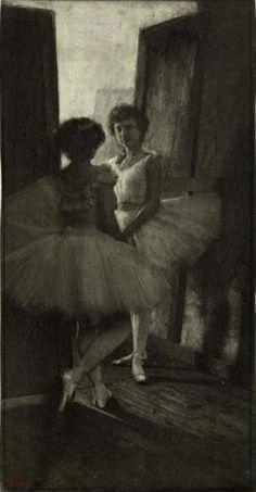 Robert Demachy, Behind the Scenes, c. 1897. Theredlist