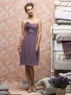 bridesmaid dress- this would be pretty if it was a blue or a pink!