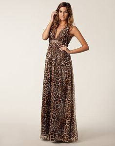 Athena Leopard Dress