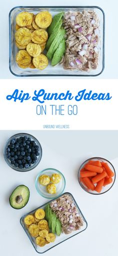 Easy AIP Lunch Ideas on the go