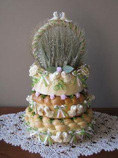 Ukrainian Wedding Bread from  www.korovai.wix.com/myspecialbread