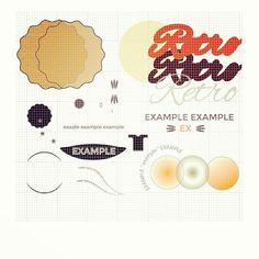 Za zákulisí.. #graphic #logodesigns #logotype #design #graphicdesign #logoinspirations #fraktalion_design #retro