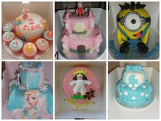selection of my cakes