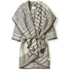 MW Matthew Williamson Shawl Collar Blanket Wrap Coat and other apparel, accessories and trends. Browse and shop 10 related looks.