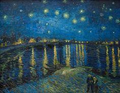 Vincent van Gogh ローヌ川の星月夜   Sumally