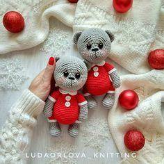 Knitting # Teddy Bear # Making # Telling # 2 – amigurumi Knitted Teddy Bear, Crochet Bear, Diy Crochet, Crochet Dolls, Crochet Teddy, Crochet Motifs, Crochet Toys Patterns, Amigurumi Patterns, Stuffed Toys Patterns
