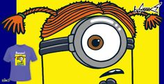 T-shirts - Design: Minions can do it! - by: Boggs Nicolas