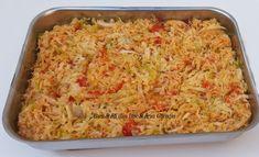 Pulpe de pui pe varza la cuptor - Bunătăți din bucătăria Gicuței Fried Rice, Macaroni And Cheese, Fries, Cabbage, Ethnic Recipes, Food, Home, Mac And Cheese, Eten