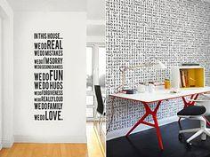 Η εντυπωσιακή διακόσμηση στις κάθετες επιφάνειες του σπιτιού είναι θέμα... τοίχου και σίγουρα όχι τύχης! Πάρτε ιδέες και -με ελάχιστο κόστος- δώστε νέο αέρα στο σπίτι σας. House, Home Decor, Decoration Home, Home, Room Decor, Home Interior Design, Homes, Houses, Home Decoration