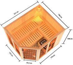 Diy Sauna, Sauna House, Sauna Room, Jacuzzi, Saunas, Backyard Patio Designs, Backyard Pools, Pool Decks, Pool Landscaping