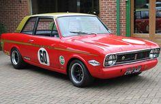 Lotus Cortina Mk2 Alan Mann Racing