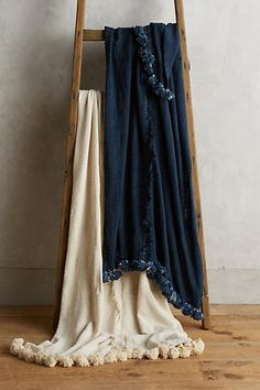 Charles Galatis Tassel Throw - anthropologie.com